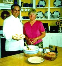 Chef John Folse with Anne Butler